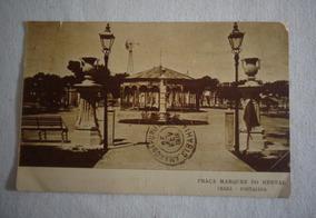 Cartão Postal Ceará Praça Marquez Herval Fortaleza1918