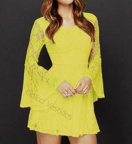 68caf107e9ce Vestidos Femeninos Amarelo Curto em Paraná com o Melhores Preços no ...
