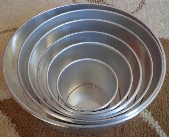 Formas Redondas Conjunto Com 6 Peças- 5cm De Altura