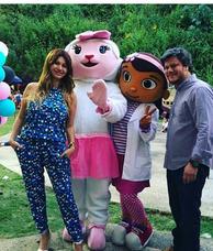 Muñecotes Doctora Juguetes Lamby Peppa Pig Show Fiestas