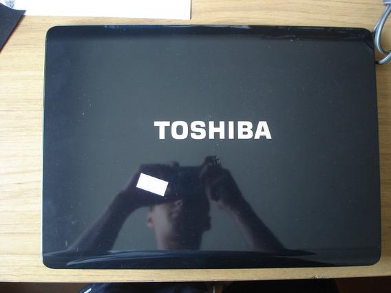 10561- Carcaça Notebook Toshiba Sattelite Com Parafusos