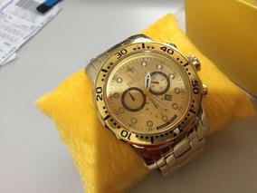 Relógio Invicta Pro Driver Dourado Masculino