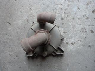 Tapa Turbina -bomba Briggs & Stratton 3 Hp