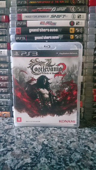 Castlevania Lords Of Shadow 2 Ps3 Midia Fisica-frete R$10