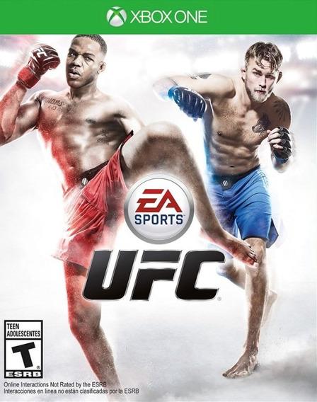 Jogo Ea Sports Ufc Xbox One Xone Original Mídia Física Luta