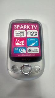 P/retirada De Peças Celular Blu Spark Tv Cinza Com Defeito