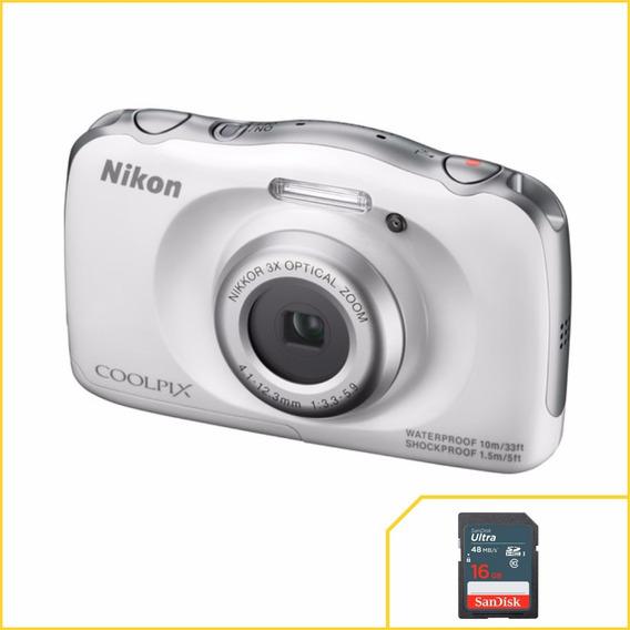 Camera Nikon À Prova D
