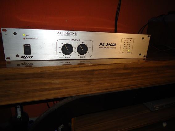 Potência Audisom Modelo Pa-2100l