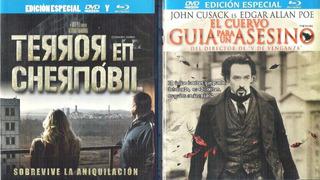 Peliculas De Terror.combo Blu-ray, Dvd.