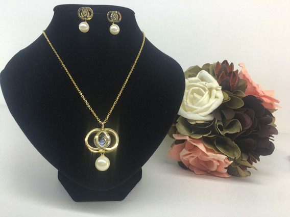 Collar Moda Vintage Dorado
