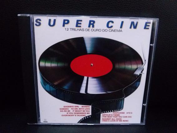 Cd Super Cine - 12 Trilhas De Ouro Do Cinema Som Livre 1985