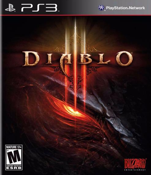 Jogo Ps3 Diablo 3 Novo Lacrado E Original