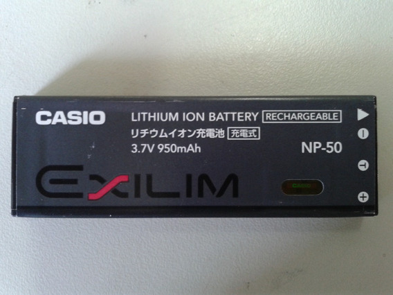 Bateria Original Casio Np-50