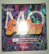 5 Und Fujitsu R640 640mb Magneto-optical Rw Disks Lacrado