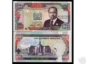 Quênia 100 Shillings 1994 P. 27f Fe Cédula - Tchequito