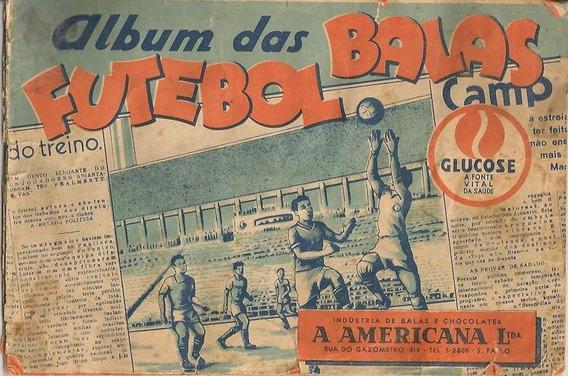 Álbum Das Balas Futebol Paulista A Americana 1947 - Scaner