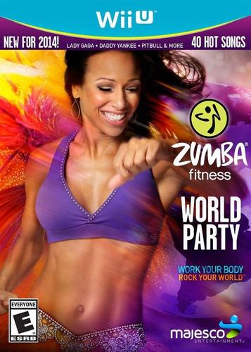 Jogo Zumba Fitness World Party Com Zumba Belt Nintendo Wii U Mercado Livre