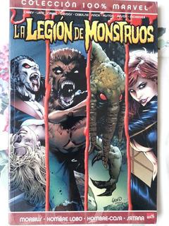 Legion De Monstruos 100% Marvel