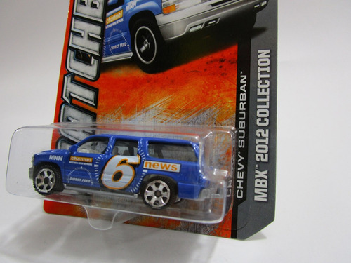 Camioneta Chevrolet Suburban Parecida A La Blazer Matchbox