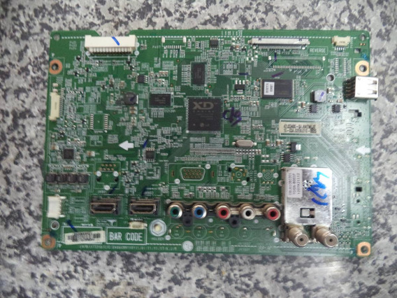 Placa Principal Da Tv Lg 42ls3400 Eax64991101(0.1)
