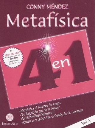 Metafisica 4 En 1 Tomo 1 - Conny Mendez - Libro Nuevo Envio