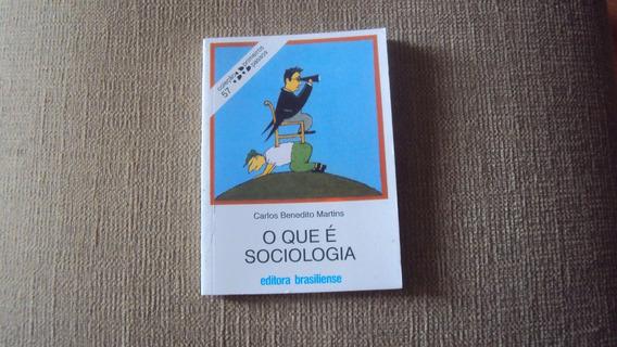 O Que É Sociologia - Editora Brasiliense
