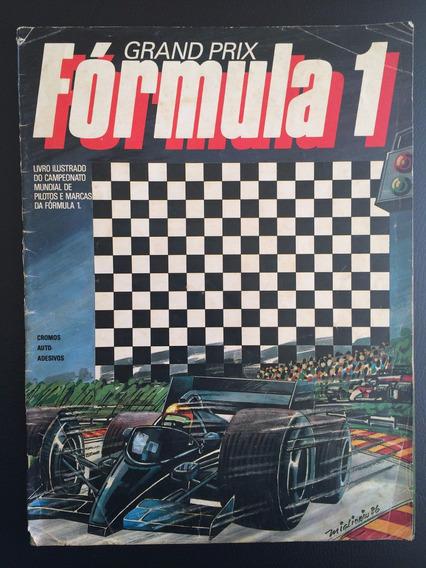 Álbum Grand Prix Fórmula 1 - 1986