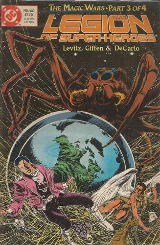 Legion Of Super Heroes 62 - Dc Comics - Bonellihq Cx31 D19