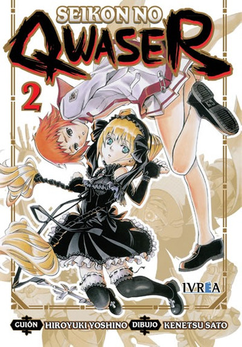 Manga Seikon No Qwaser Tomo 02 - Ivrea
