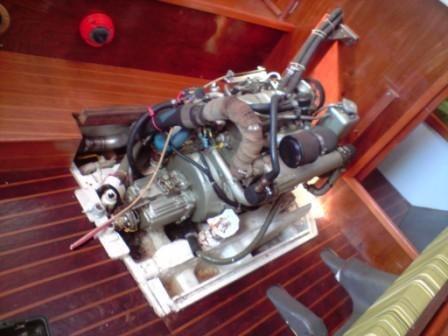 Motor Maritimo Diesel 50hp Control Reversor2x1,veleiro,barco