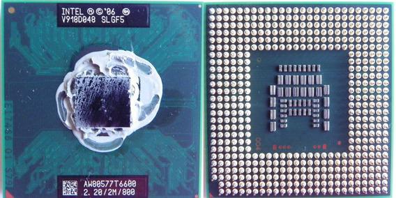 Processador Para Notebook Intel Core 2 Duo T6400 Usado
