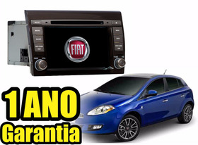 Kit Central Multimidia Fiat Bravo Dvd Gps Tv Bt Cam Ré Blume