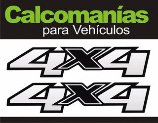 Calcomanía 4x4 Silverado (2 Unidades)