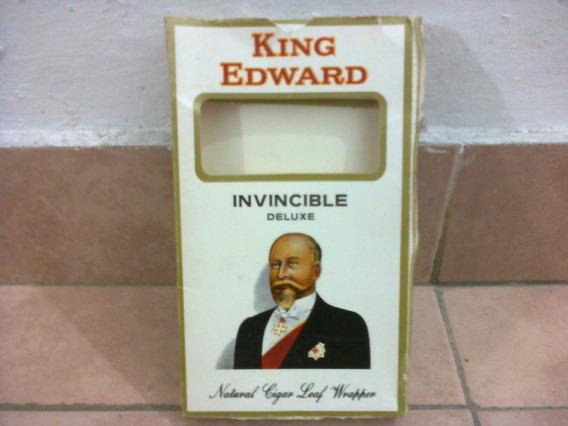 King Edward 5 Cigarros - Made In Usa - 1988