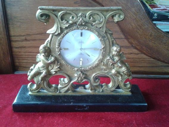 Reloj Antiguo De Bronce Swiza Hecho En Suiza