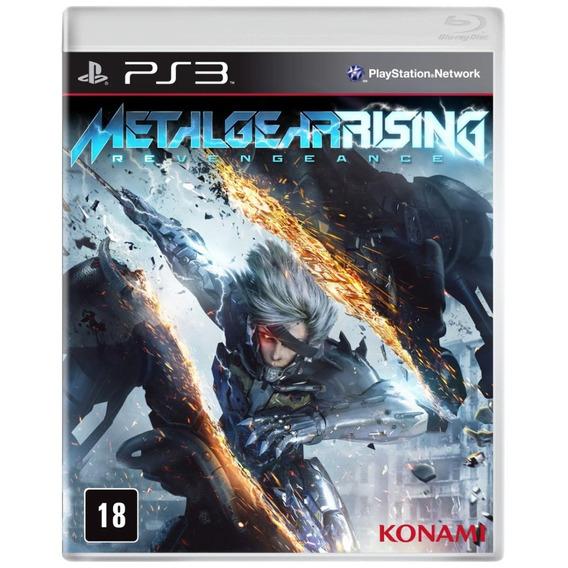 Metal Gear Rising Revengeance Ps3 Original Bluray Português