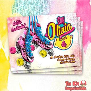 Soy Luna Invitación Imprimible Disney Personalizada Soy Luna