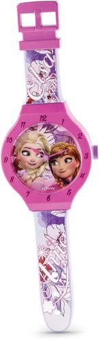 Relógio De Parede Frozen 47cms Dtc Mod 2