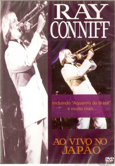 Dvd Ray Conniff - Ao Vivo No Japão - Novo***