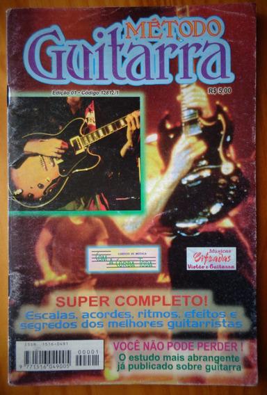 Revista Método Guitarra 67 Páginas Escalas Acordes Ritmos
