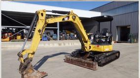 Mhs- Caterpillar 304c Retro Mni Excavadora Año 2007 Y 2008