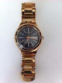 Swatch Irony Dourado