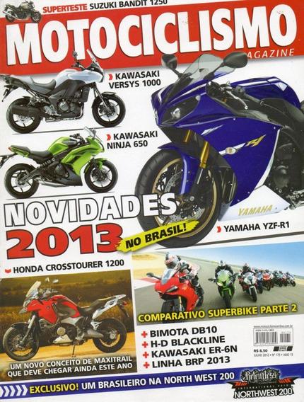 Motociclismo N°175 Jul/2012 Bandit Ninja 650 Yamaha Yzf-r1