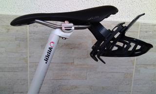 Suporte Auxiliar Selim Para Caramanhola Bike