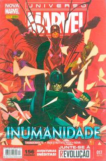 Hq Universo Marvel 17 Inumanidade 156 Páginas Lacrada