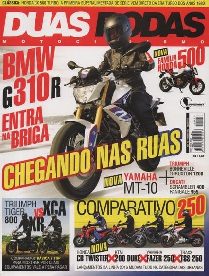 Duas Rodas N°483 Bmw G310r Yamaha Mt-10 Tiger 800 Cb Twister