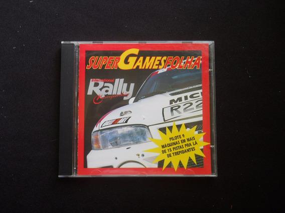 Super Games Folha - International Rally Championship - Cd