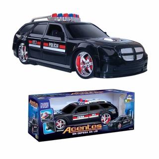 Brinquedo Carro Tunning Polícia Agentes Original Bstoys
