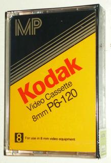 Video Cassette Kodak 8 Mm