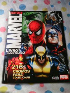 Herois Marvel 2008 - Album Incompleto - On Line Editora